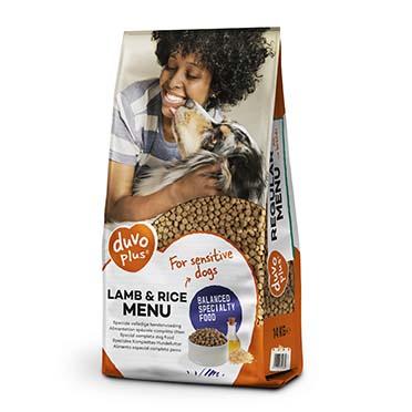 Lamb & rice menu dog  14kg