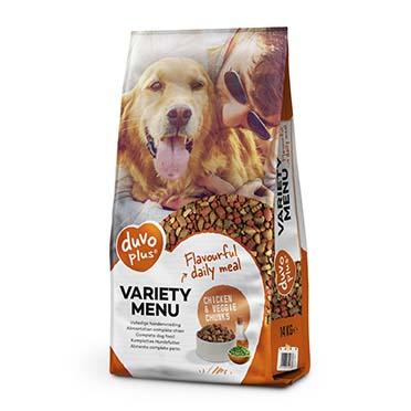 Variety menu dog  14kg