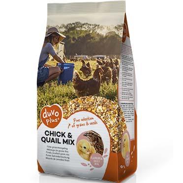 Chick & quail mix  5KG