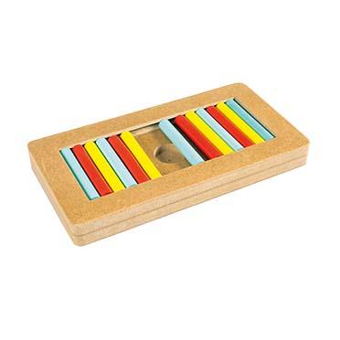 Slide `n snack puzzle - rectangle Multicolour 28,5x15x3cm