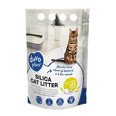 Premium silica cat litter lemon Yellow/white 1-8mm - 5L - 2kg