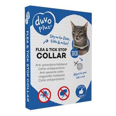 Flea & tick stop anti-parasite collar cat  38cm