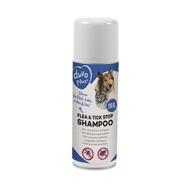 Flea & tick stop anti-parasite shampoo  200ml