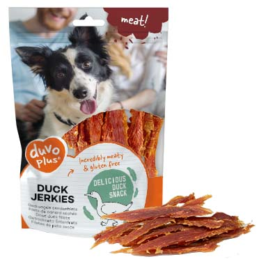 Meat! duck jerkies  100g - ± 18st
