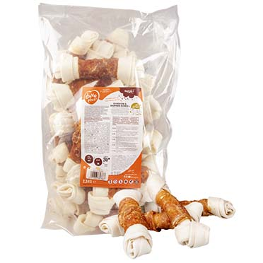 Meat! chicken & rawhide large bones  2500g - ± 27st