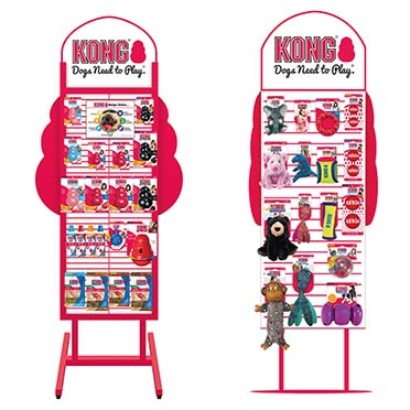Kong 2 sided display