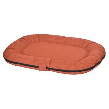 Poly kissen ovale siesta marmelade Orange L - 120x80x10cm