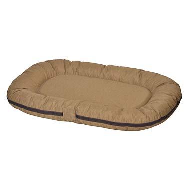 Poly cushion oval siesta hazelnut  L - 120x80x10cm
