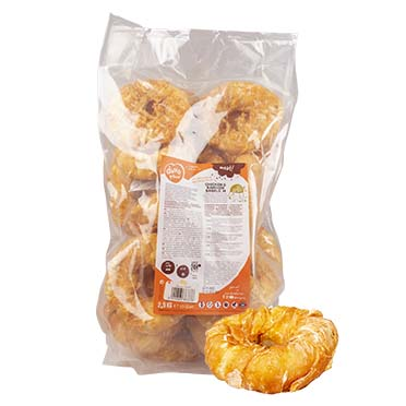 Meat! chicken & rawhide bagels medium  2500g - ± 22st