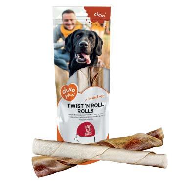 Twist `n roll rolls beef  20cm - 2pcs