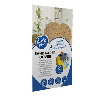 Sand paper cover  S - 8pcs - 21x35cm