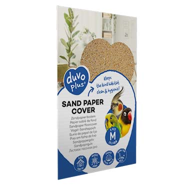 Sand paper cover  M - 6pcs - 25x40cm