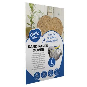 Sand paper cover  L - 5pcs - 28x43cm