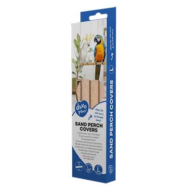 Zandhoezen voor zitstokken Beige L - 3pcs - 25x2x2cm