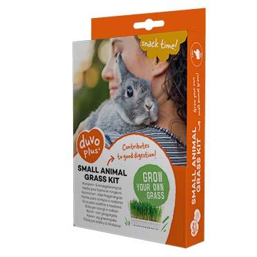 Rabbit & small animal grass kit  70g - 17,5x13x3cm