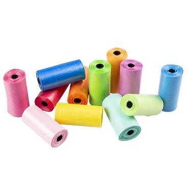Poo bags rainbow Multicolour 32x19cm