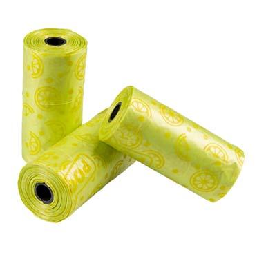 Sacs ramasse-crottes spice lime Citron vert 32x19cm