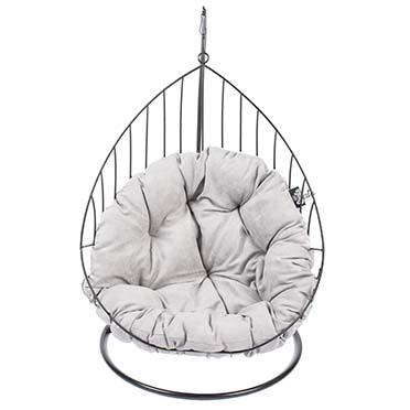 Caviar metal hanging chair  55x35x98cm