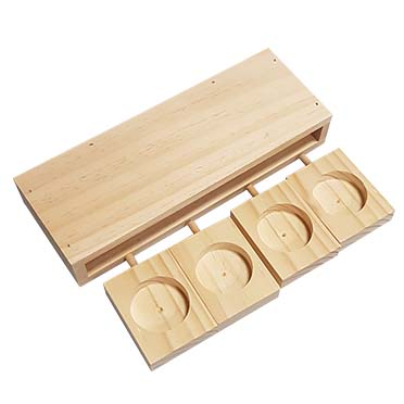 Houten sniffle `n snack puzzle ben 22x8x3,6CM
