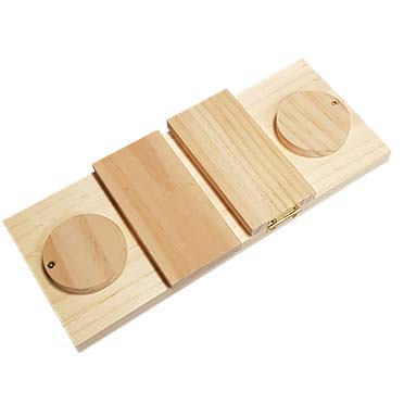 Houten sniffle `n snack puzzle dan 28x12x2,5CM