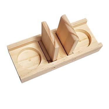 Houten sniffle `n snack puzzle edd 18x7x2,5CM