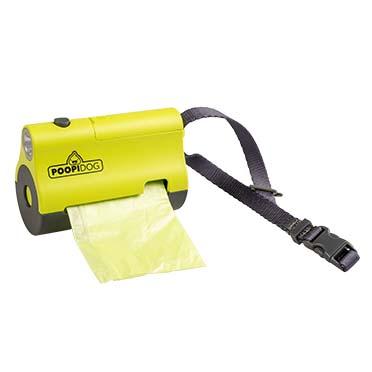 Poo bag dispenser led Lime 8,5x4x6cm