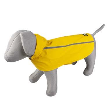 Dog raincoat reflective Yellow XS - 30cm