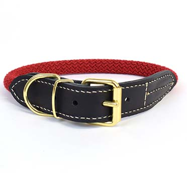 Forest collar Red L - 51-59cm/14mm