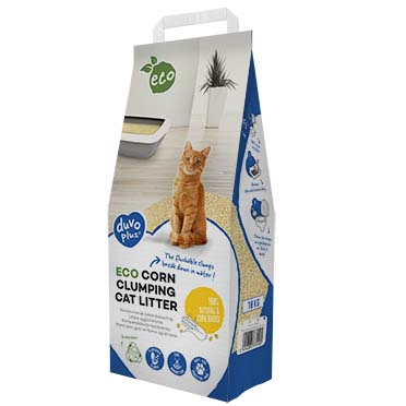 Eco corn clumping cat litter  10kg - P72