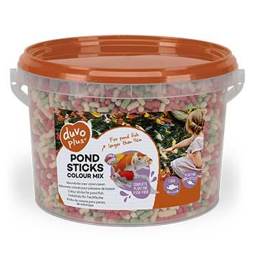 Pond sticks colour mix  3l - 4mm
