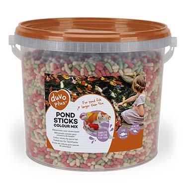 Pond sticks colour mix  5l - 4mm