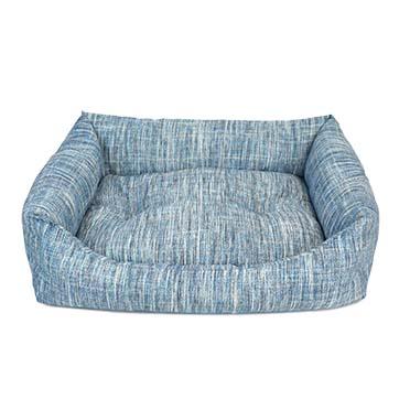 Mand rechthoekig azure Blauw 45x30x15cm