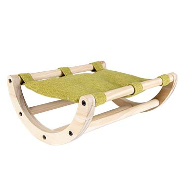 Wooden rocking bed Multicolour 25x20,5x10CM