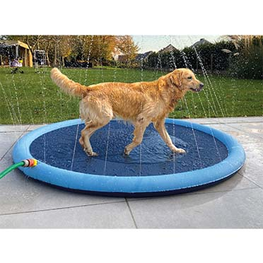 Splash play mat Blue Ø150cmx1,5cm