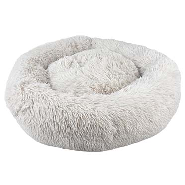 Cozy donut bed Grey M - 50x50x16cm