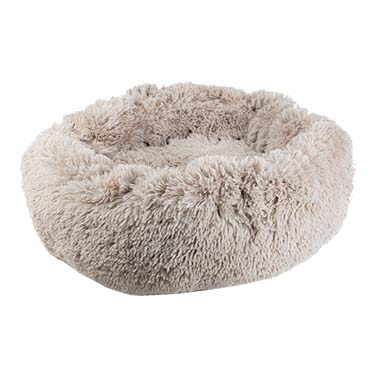 Cozy donut bed Brown L - 60x60x17cm