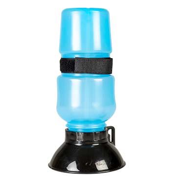 Drinking bottle squeeze Blue 500ml - 10,5x10,5x21,5cm