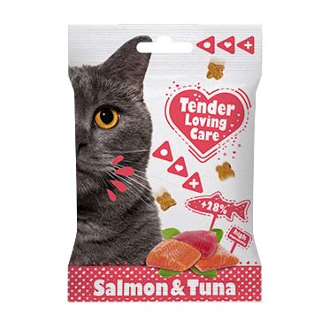 Soft cat snack salmon & tuna  50g