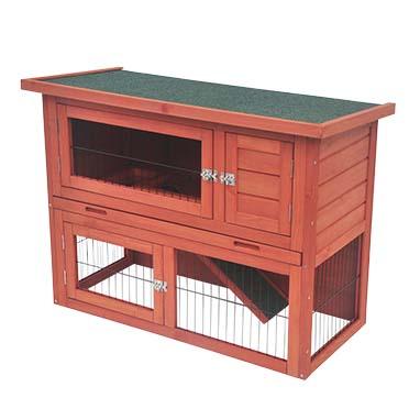 Woodland rabbit hutch bonnie classic  95x45x70cm