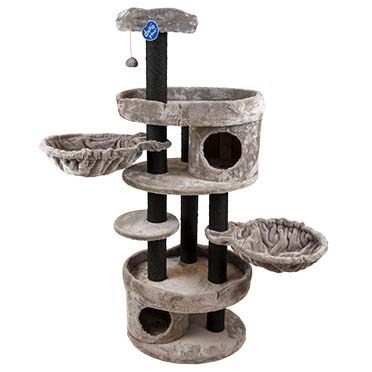 Scratching post coco Anthracite 60x48x152cm