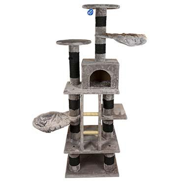 Scratching post cody Anthracite 60x60x185cm