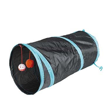 Play tunnel mini Blue/black 50x25cm