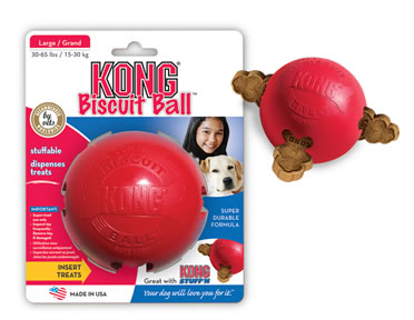 Kong biscuit ball Red S