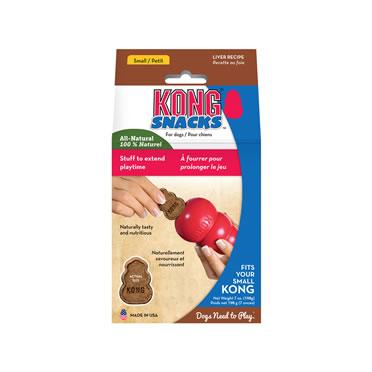 Kong stuff 'n mini snacks liver  small
