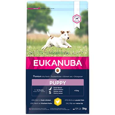 Euk dog growing puppy small breed  3kg
