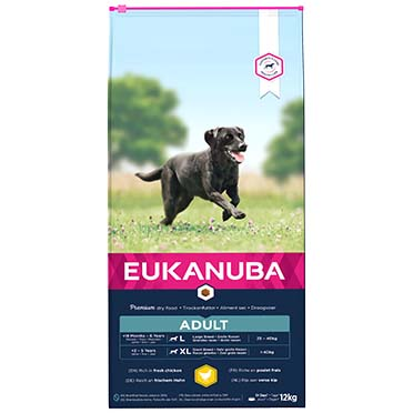 Euk dog active adult large breed  12kg