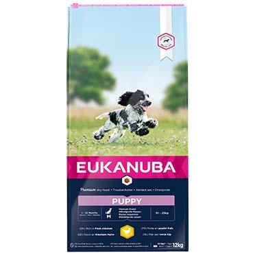 Euk dog growing puppy medium breed  12kg