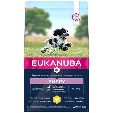 Euk dog growing puppy medium breed  3kg