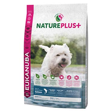 Dog nature adult small salmon  10KG
