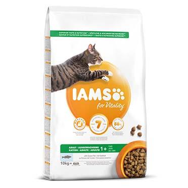 Iams for vitality adult cat ocean fish 10kg